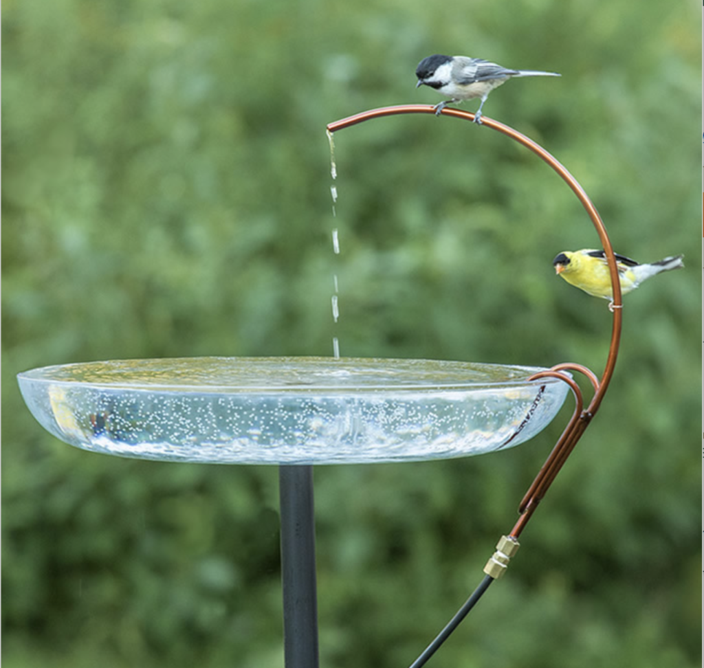Image of Universal Dripper, used in birdbaths.